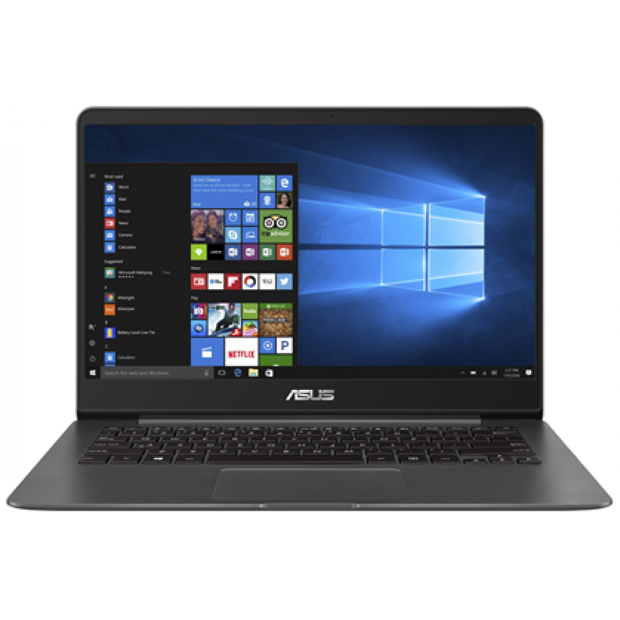 "Asus UX430UA Quartz Grey 14""/i7-8550U/8GB/512GB/Intel HD/WIN10/EN"
