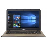 "Asus X540LA Chocolate Black 15.6""/i3-5005U/4GB/128GB/Intel HD/WIN10/EN"