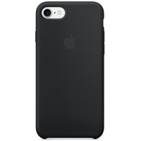 Nugarėlė Apple iPhone 7/8 Silicone Case Black