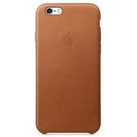 Nugarėlė Apple iPhone 6/6s Leather Case Saddle Brown