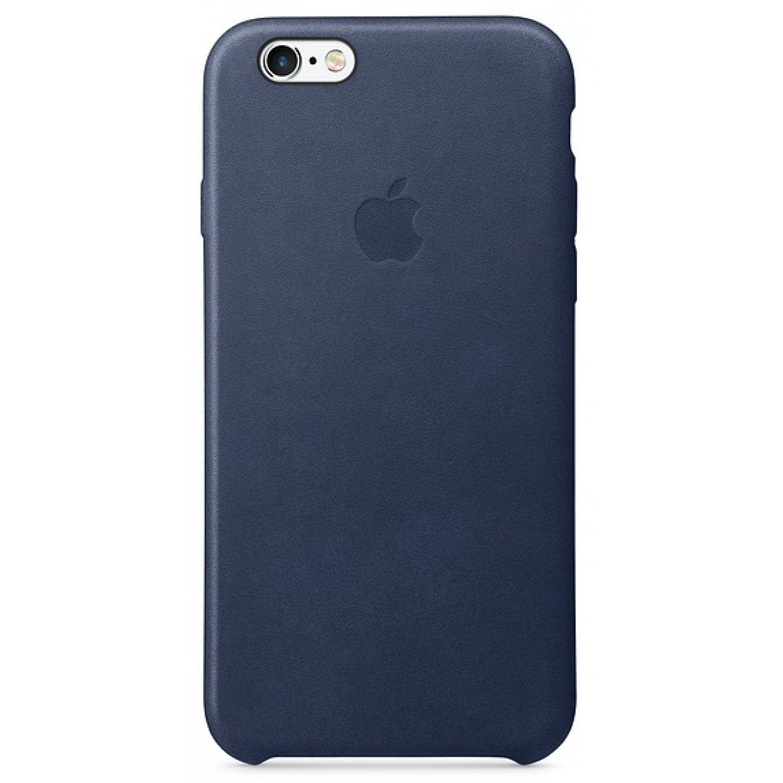 Nugarėlė Apple iPhone 6/6s Leather Case Midnight Blue