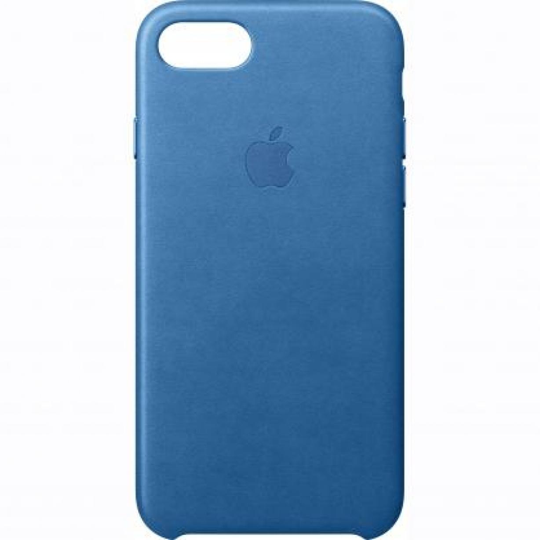 Nugarėlė Apple iPhone 7 Leather Case Midnight Sea Blue
