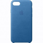 Nugarėlė Apple iPhone 7 Leather Case Midnight Sea Blue