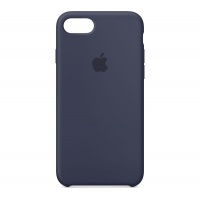 Nugarėlė Apple iPhone 7/8 Silicone Case Midnight Blue