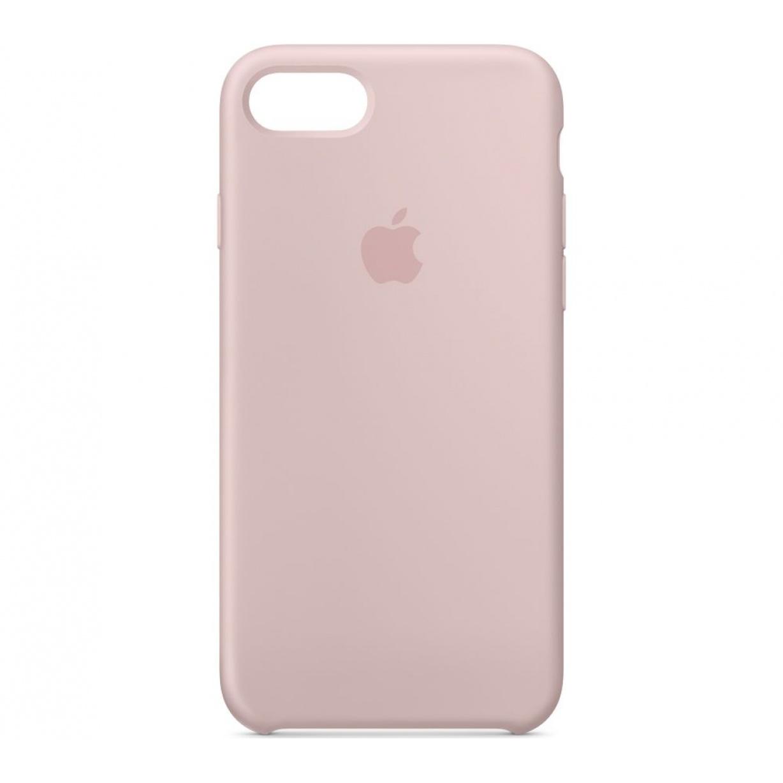 Nugarėlė Apple iPhone 7/8 Silicone Case Pink Sand