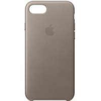 Nugarėlė Apple iPhone 7/8 Leather Case Taupe