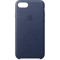 Nugarėlė Apple iPhone 7/8 Leather Case Midnight Blue