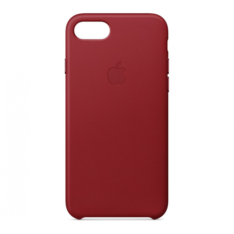 Nugarėlė Apple iPhone 7 Plus/8 Plus Leather Case Red