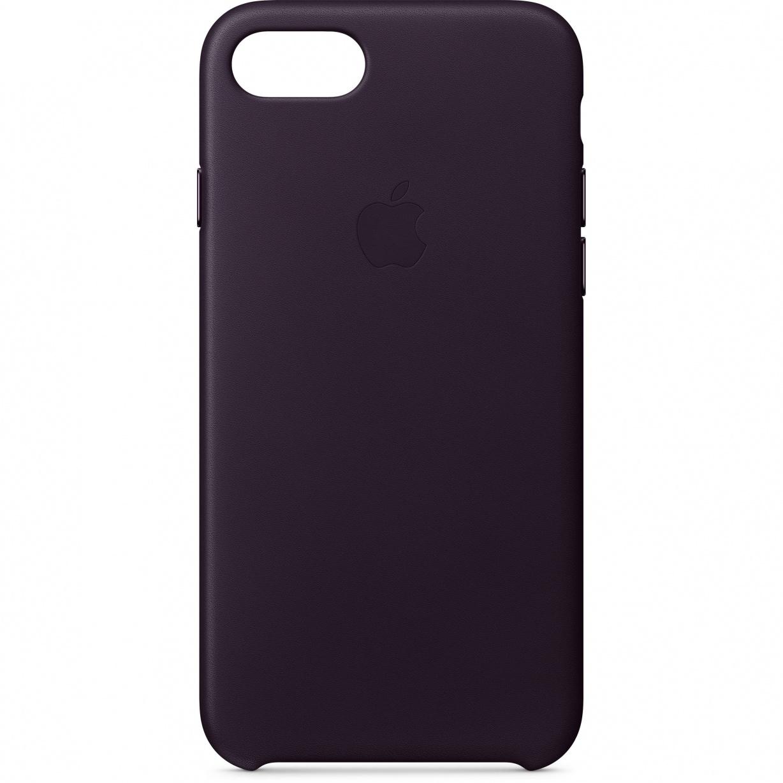 Nugarėlė Apple iPhone 7 Plus/8 Plus Leather Case Dark Aubergine