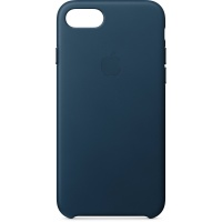 Nugarėlė Apple iPhone 7/8 Leather Case Cosmos Blue