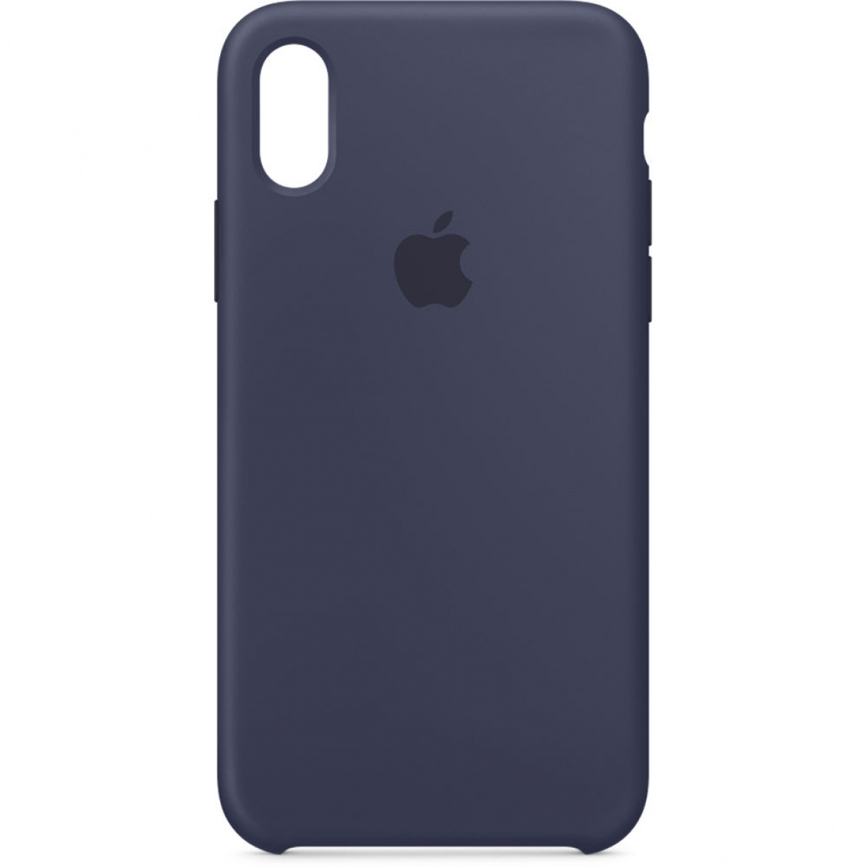 Nugarėlė Apple iPhone X Silicone Case Midnight Blue