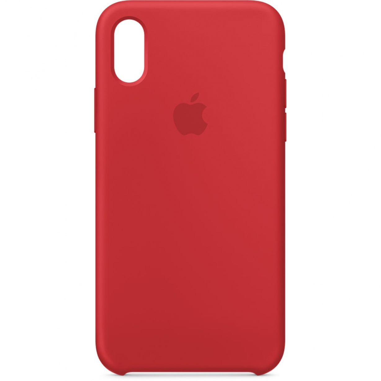 Nugarėlė Apple iPhone X/XS Silicone Case Red