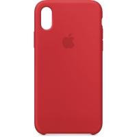 Nugarėlė Apple iPhone X/XS Silicone Case Red