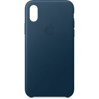 Nugarėlė Apple iPhone X/XS Leather Case Cosmos Blue