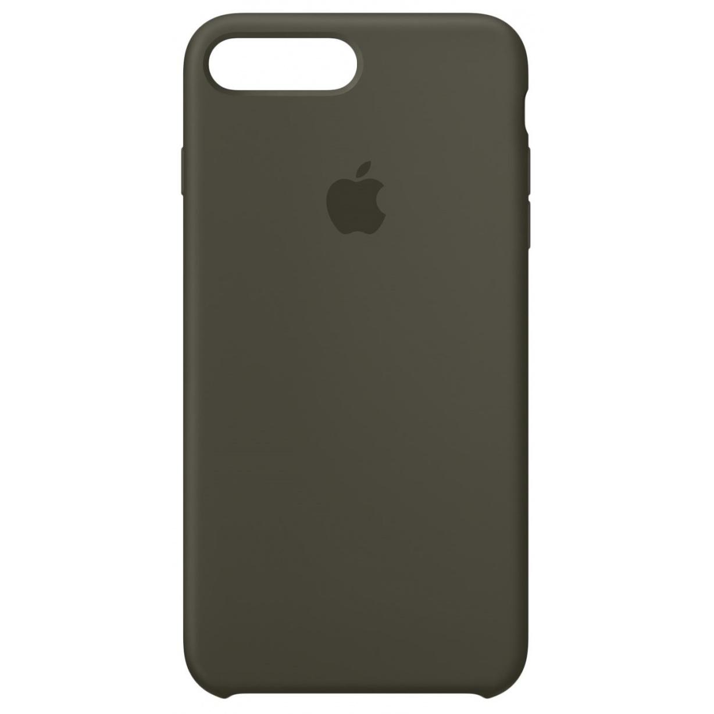 Nugarėlė Apple iPhone 7 Plus/8 Plus Silicone Case Dark Olive