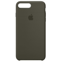 Nugarėlė Apple iPhone 7 Plus/8 Plus Silicone Case Dark Olive