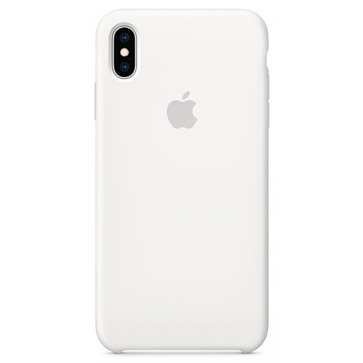 Nugarėlė Apple iPhone XS Max Silicone Case White
