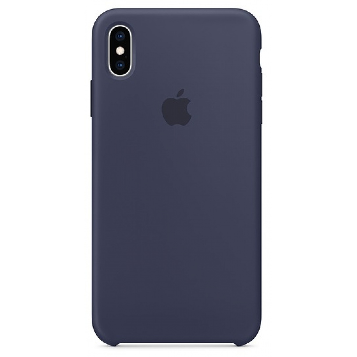 Nugarėlė Apple iPhone XS Max Silicone Case Midnight Blue