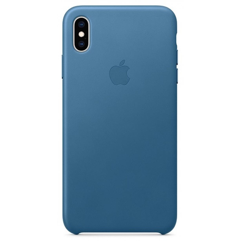 Nugarėlė Apple iPhone XS Max Leather Case Cape Cod Blue