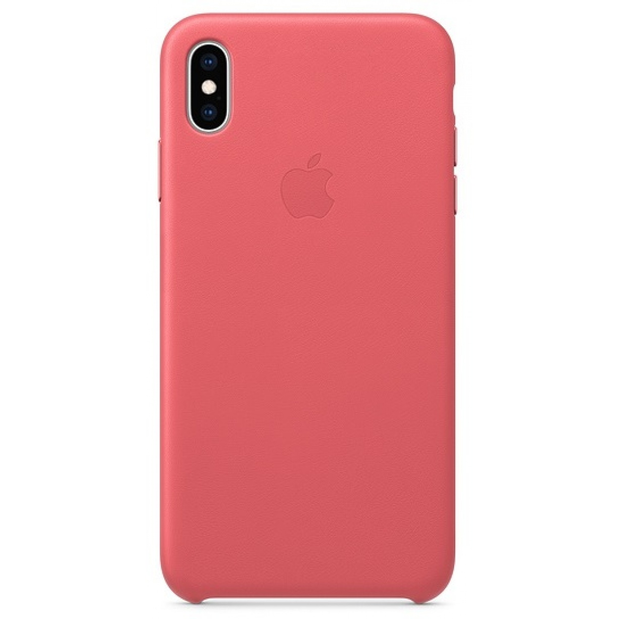 Nugarėlė Apple iPhone XS Max Leather Case Peony Pink