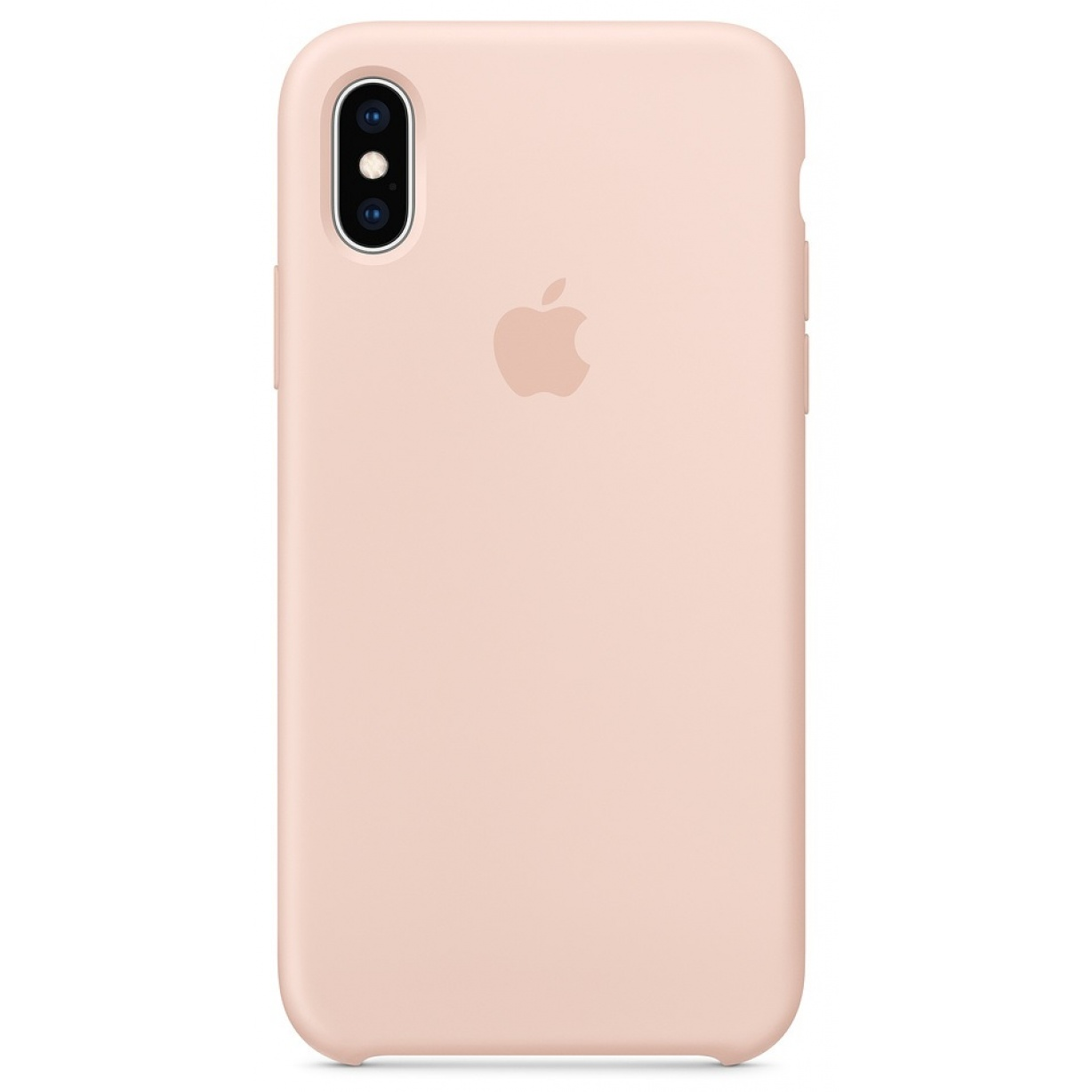Nugarėlė Apple iPhone X/XS Silicone Case Pink Sand