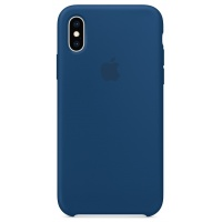 Nugarėlė Apple iPhone X/XS Silicone Case Blue Horizon
