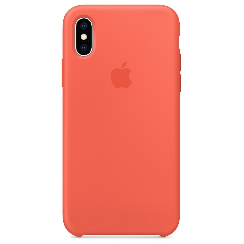 Nugarėlė Apple iPhone X/XS Silicone Case Nectarine