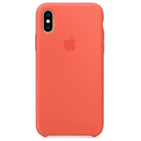 Nugarėlė Apple iPhone X/XS Silicone Case Nectarine