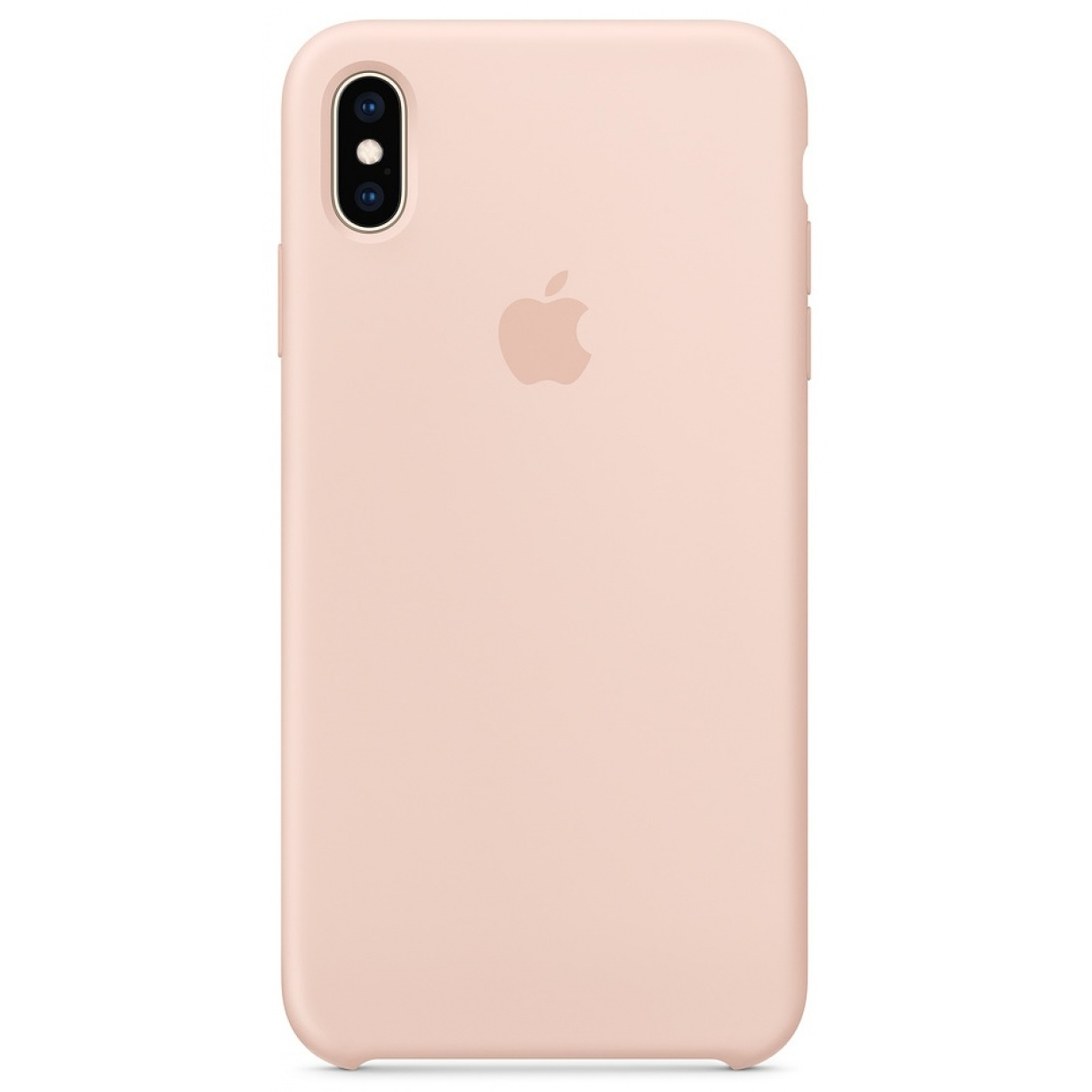 Nugarėlė Apple iPhone XS Max Silicone Case Pink Sand