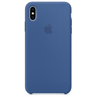 Nugarėlė Apple iPhone XS Max Silicone Case Delft Blue