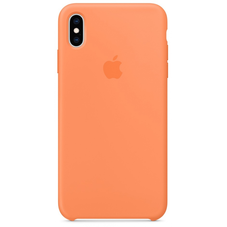Nugarėlė Apple iPhone XS Max Silicone Case Papaya
