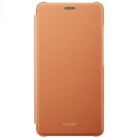 Dėklas Huawei Honor 7 Lite Flip Case Brown
