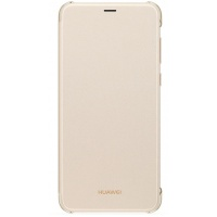 Dėklas Huawei P Smart Flip case Gold