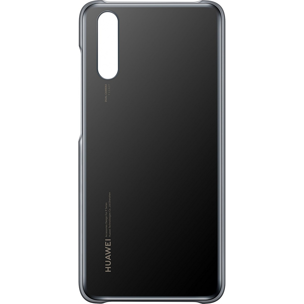 Nugarėlė Huawei P20 Protective Color Cover Black