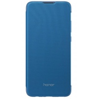 Dėklas Huawei Honor 10 Lite Flip cover Blue