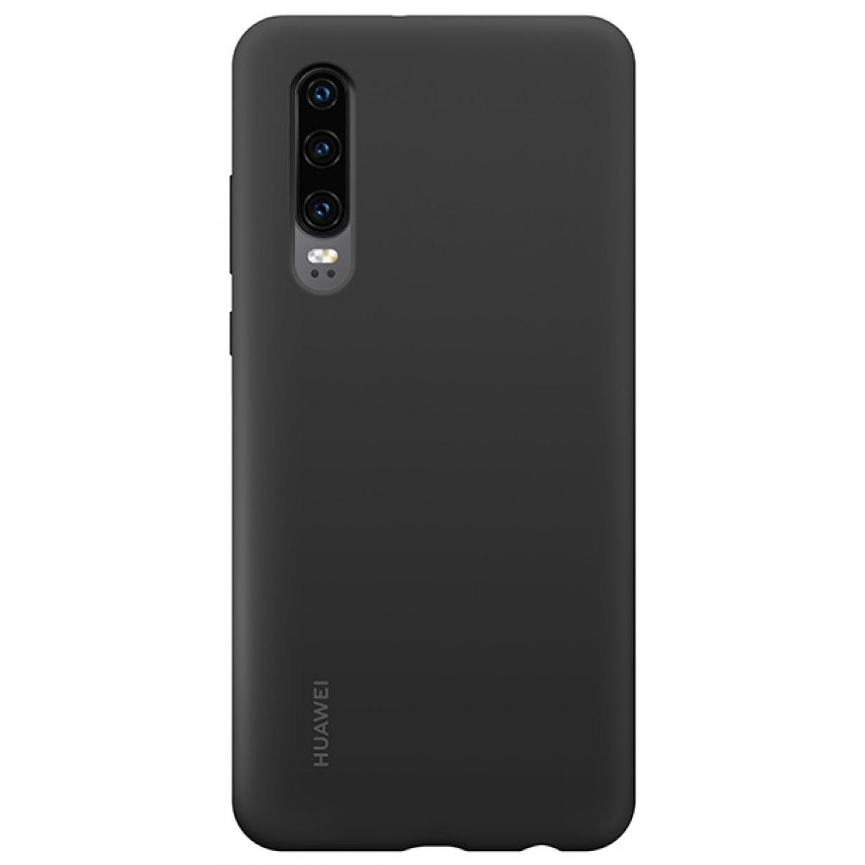 Nugarėlė Huawei P30 Silicone Car Case Black