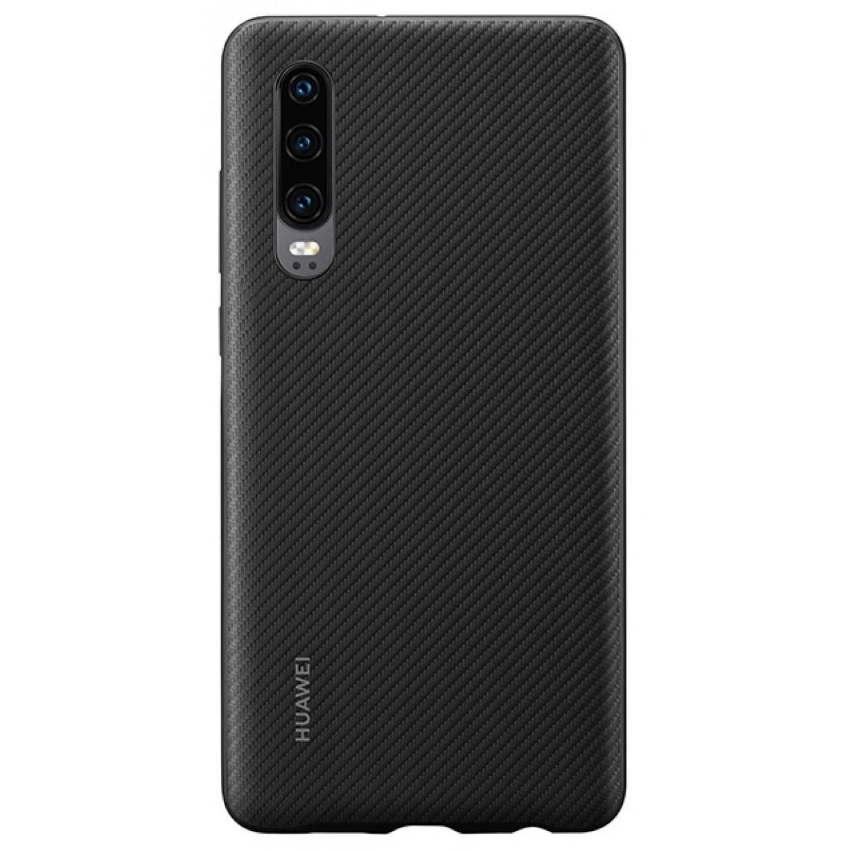 Nugarėlė Huawei P30 Protective PU Cover Black