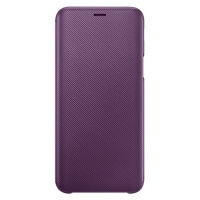 Dėklas J600 Samsung Galaxy J6 2018 Wallet cover Purple