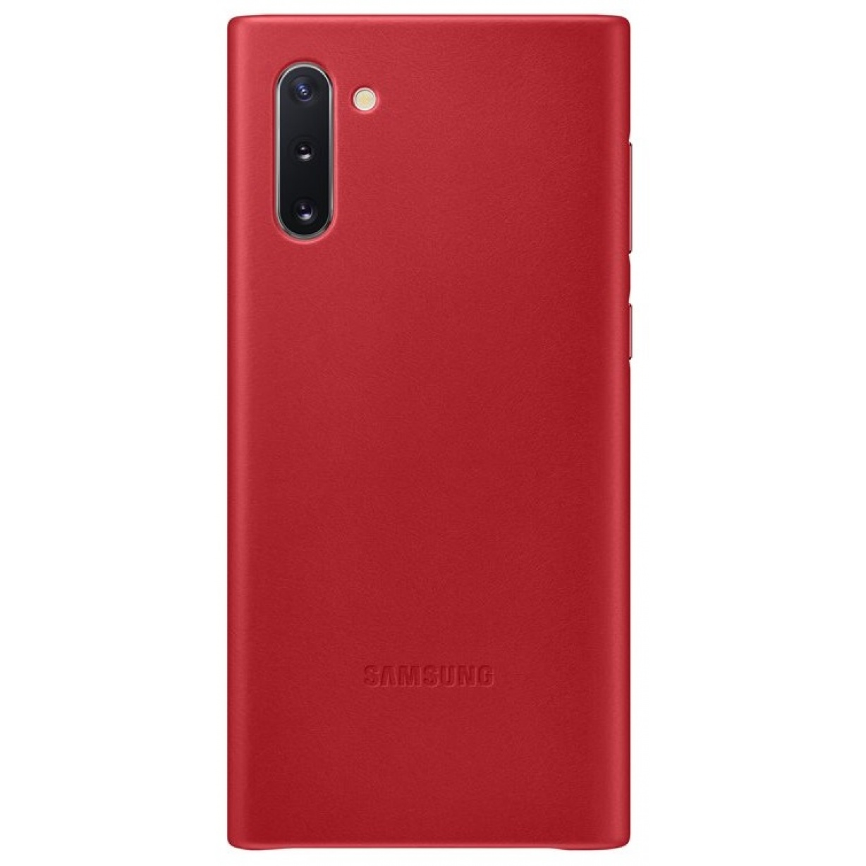 Nugarėlė N970 Samsung Galaxy Note 10 Leather Cover Red