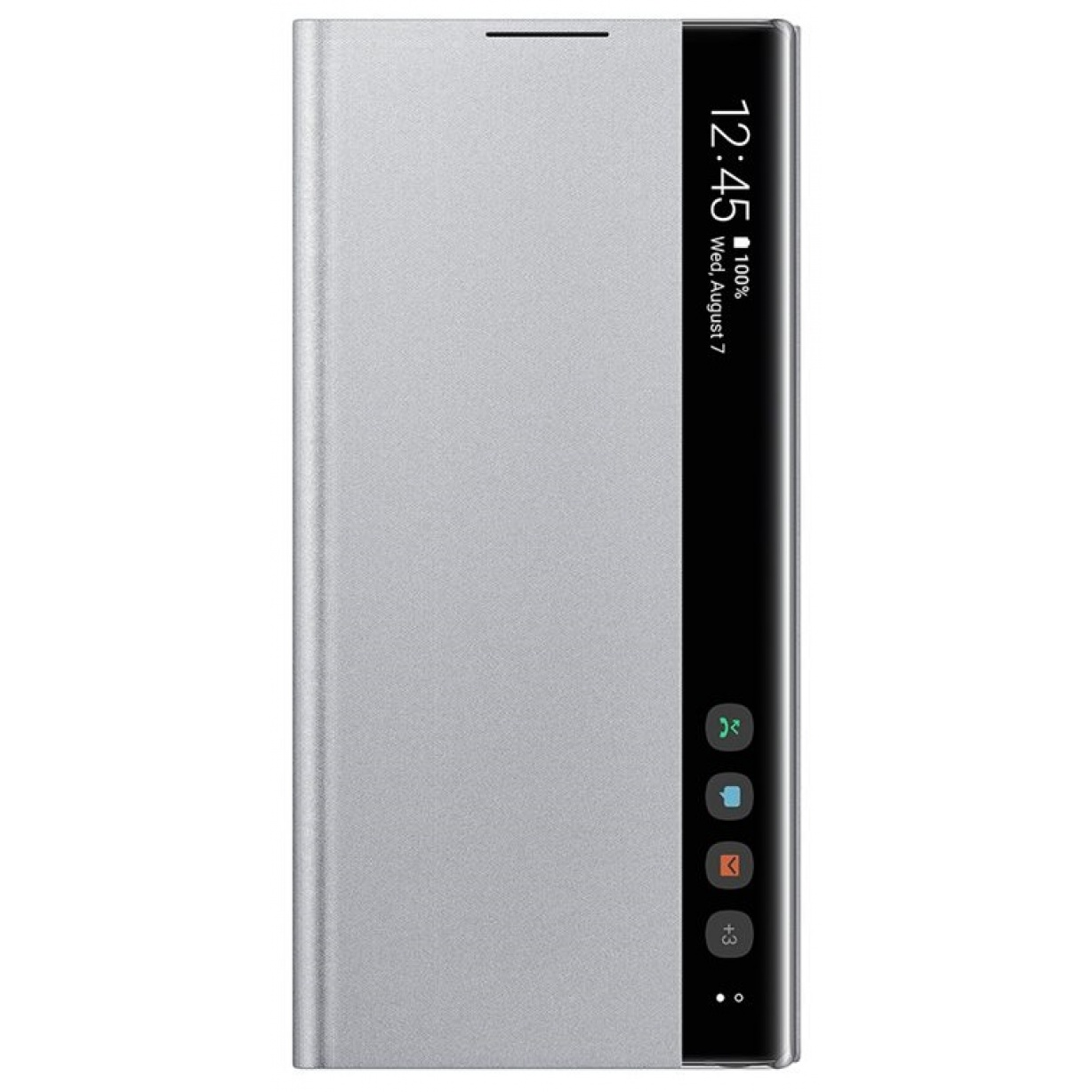 Dėklas N970 Samsung Galaxy Note 10 Clear View Cover Silver