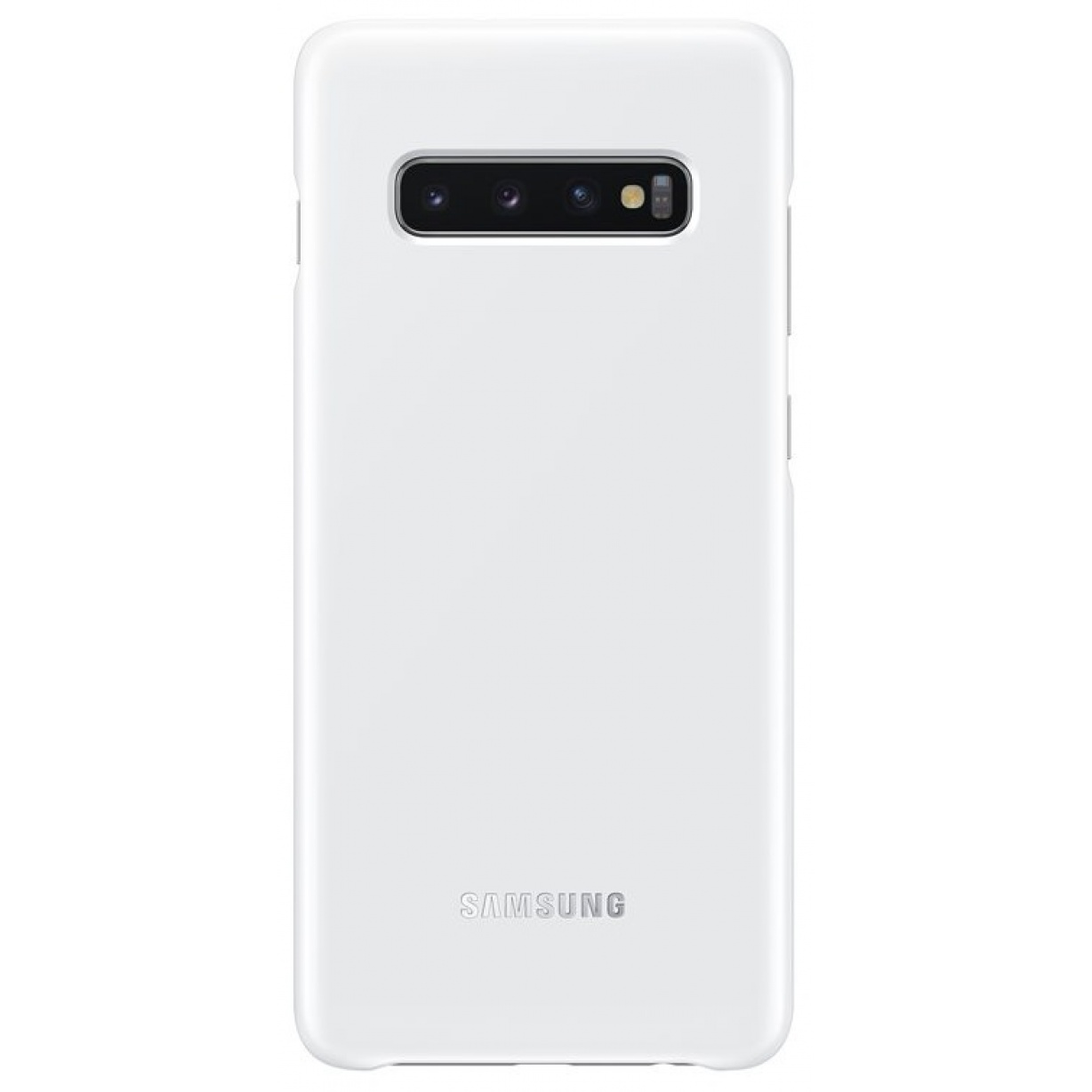 Nugarėlė G975 Samsung Galaxy S10+ LED Cover White