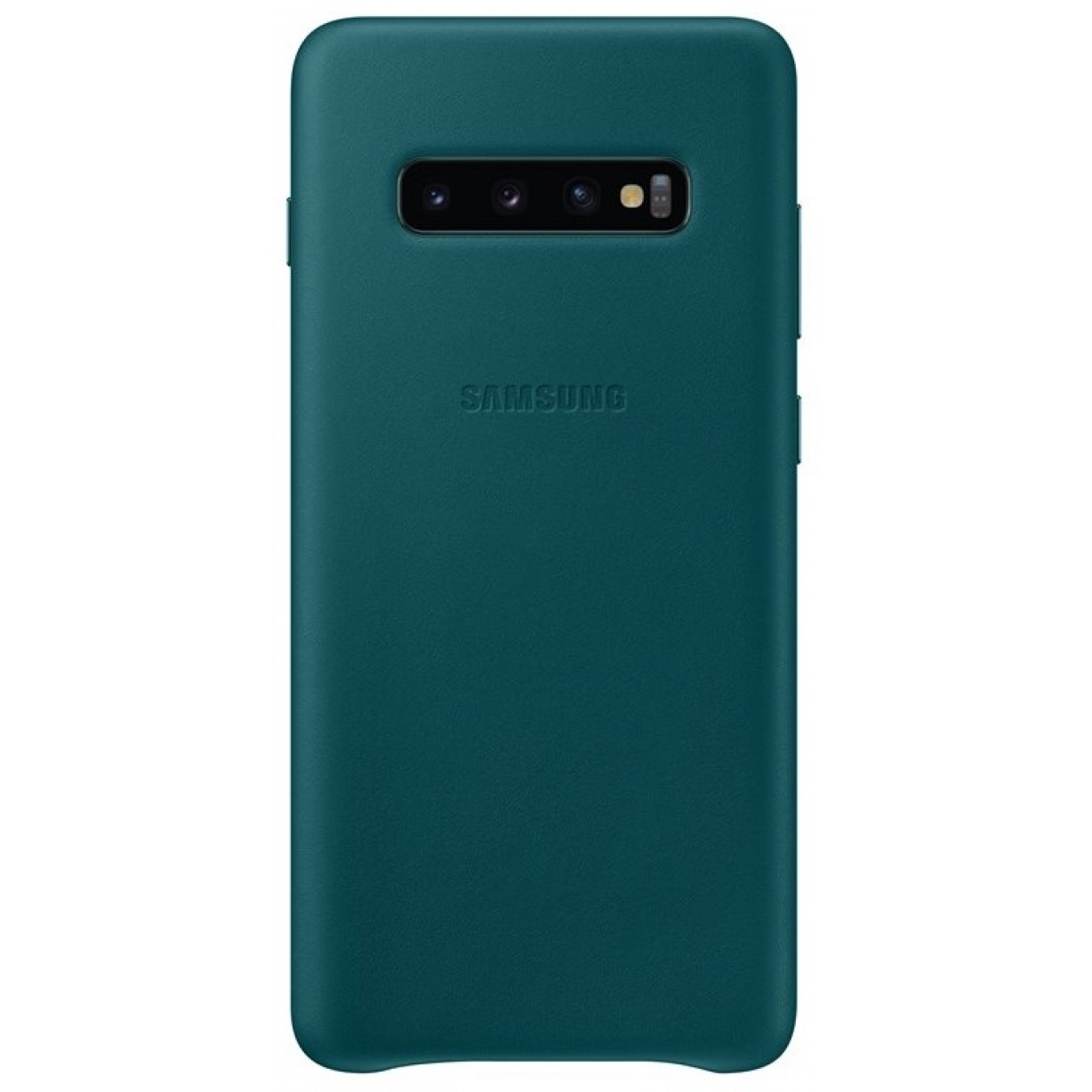 Nugarėlė G975 Samsung Galaxy S10+ Leather Cover Green