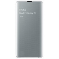 Dėklas G975 Samsung Galaxy S10+ Clear View Cover White