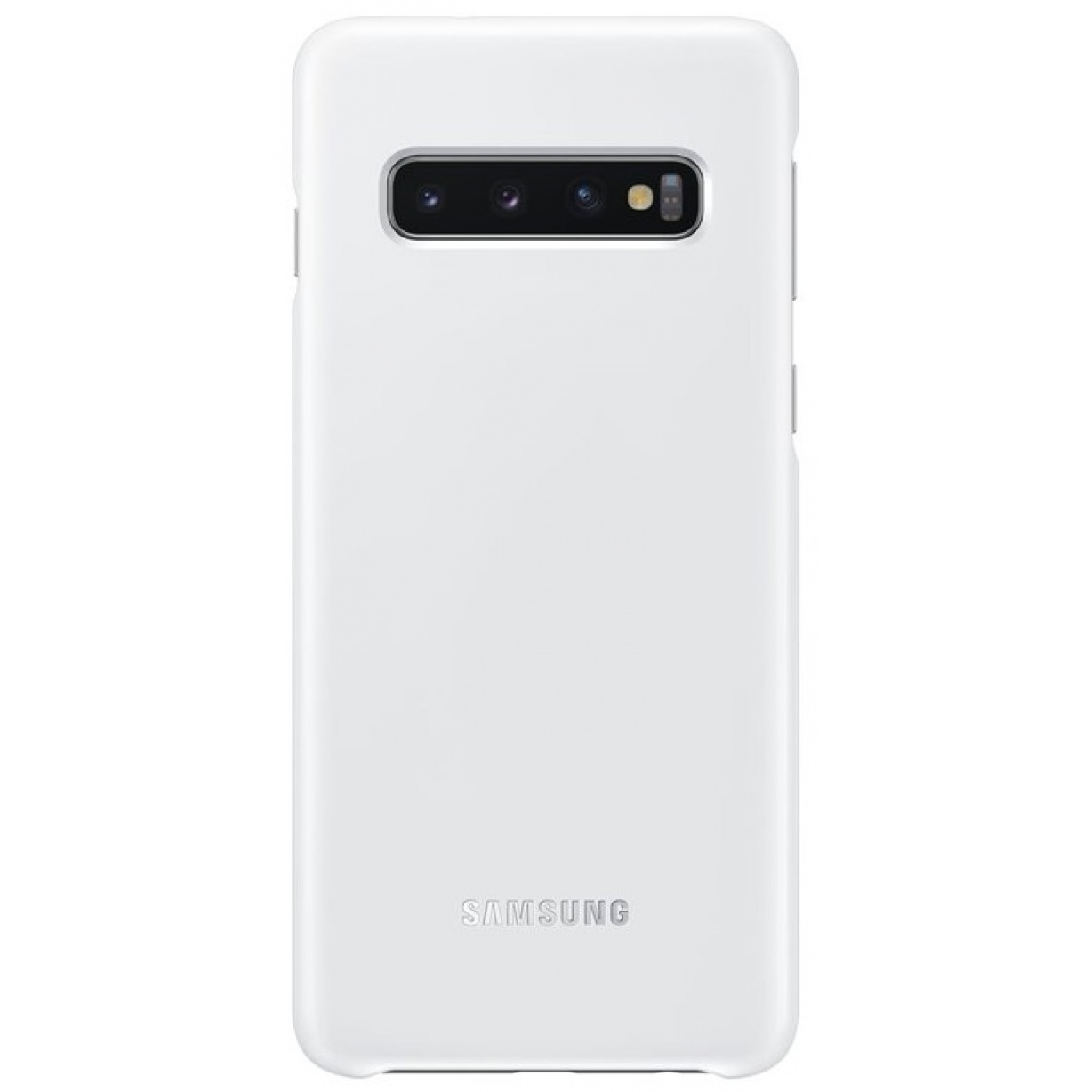 Nugarėlė G973 Samsung Galaxy S10 LED Cover White