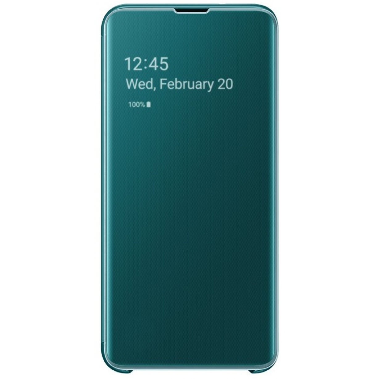 Dėklas G970 Samsung Galaxy S10e Clear View Cover Green