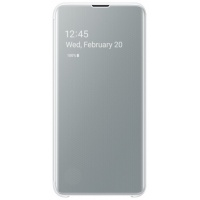 Dėklas G970 Samsung Galaxy S10e Clear View Cover White