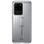 Nugarėlė G988 Samsung Galaxy S20 Ultra Protective Standing Cover Silver