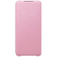 Dėklas G985 Samsung Galaxy S20+ LED View Cover Pink