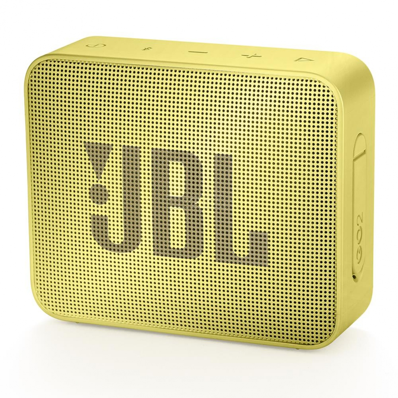 Kolonėlė JBL Go 2 Bluetooth Speaker 1.0 Yellow 3.0W