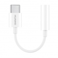 Adapteris Huawei CM20 USB Type C to 3.5mm Baltas